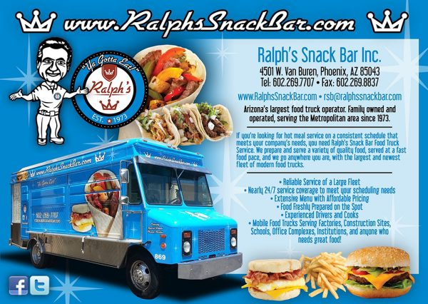 Arizona's Largest Food Truck Operator - Ralph's Snack Bar
